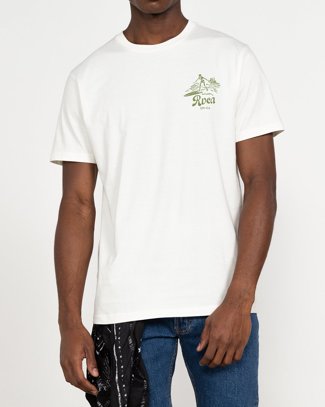 6 Tropical Disaster - T-Shirt for Men White U1SSSERVF0 RVCA