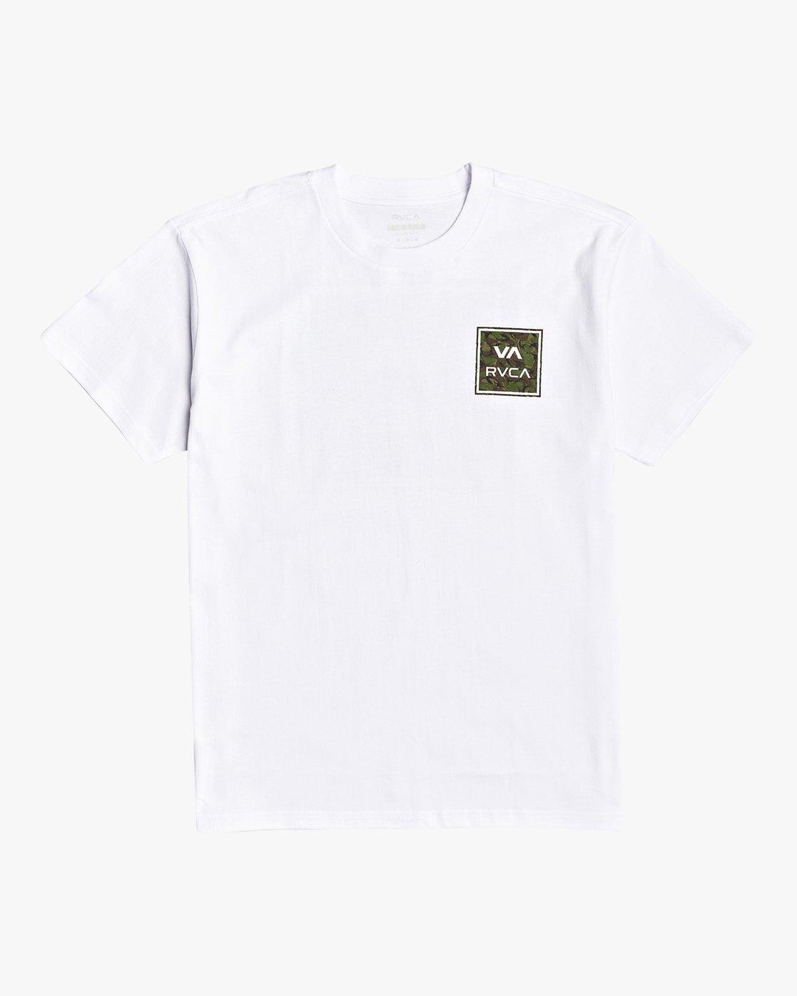 0 VA All The Way - T-Shirt for Men White U1SSSHRVF0 RVCA