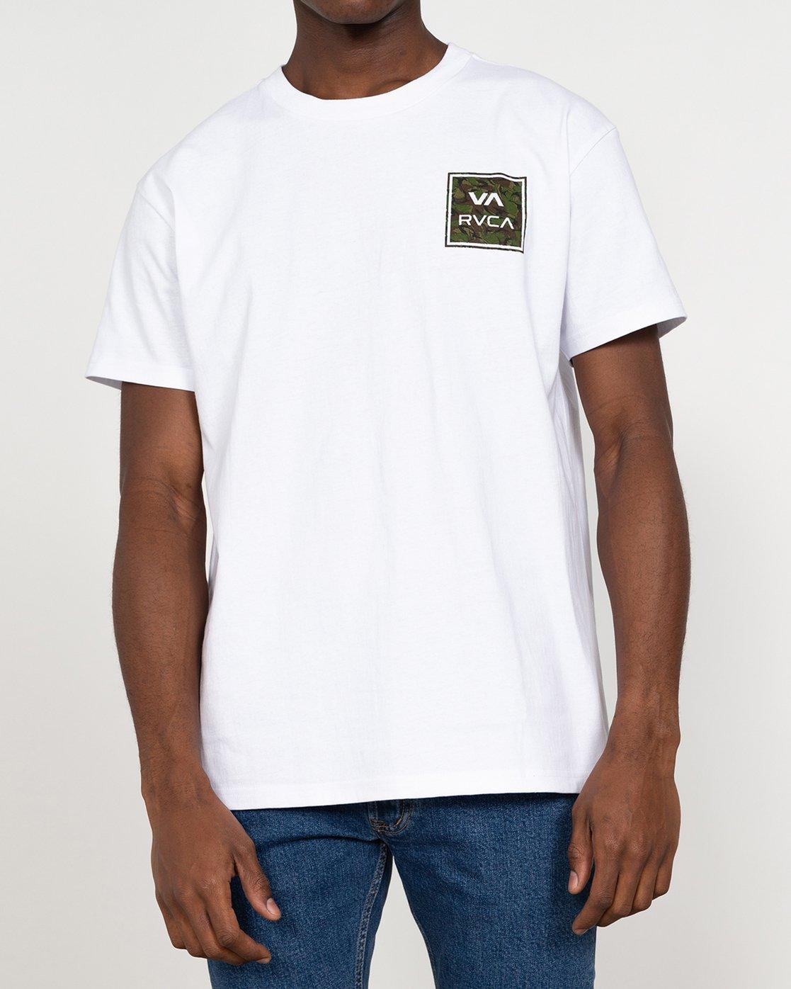 2 VA All The Way - T-Shirt for Men White U1SSSHRVF0 RVCA