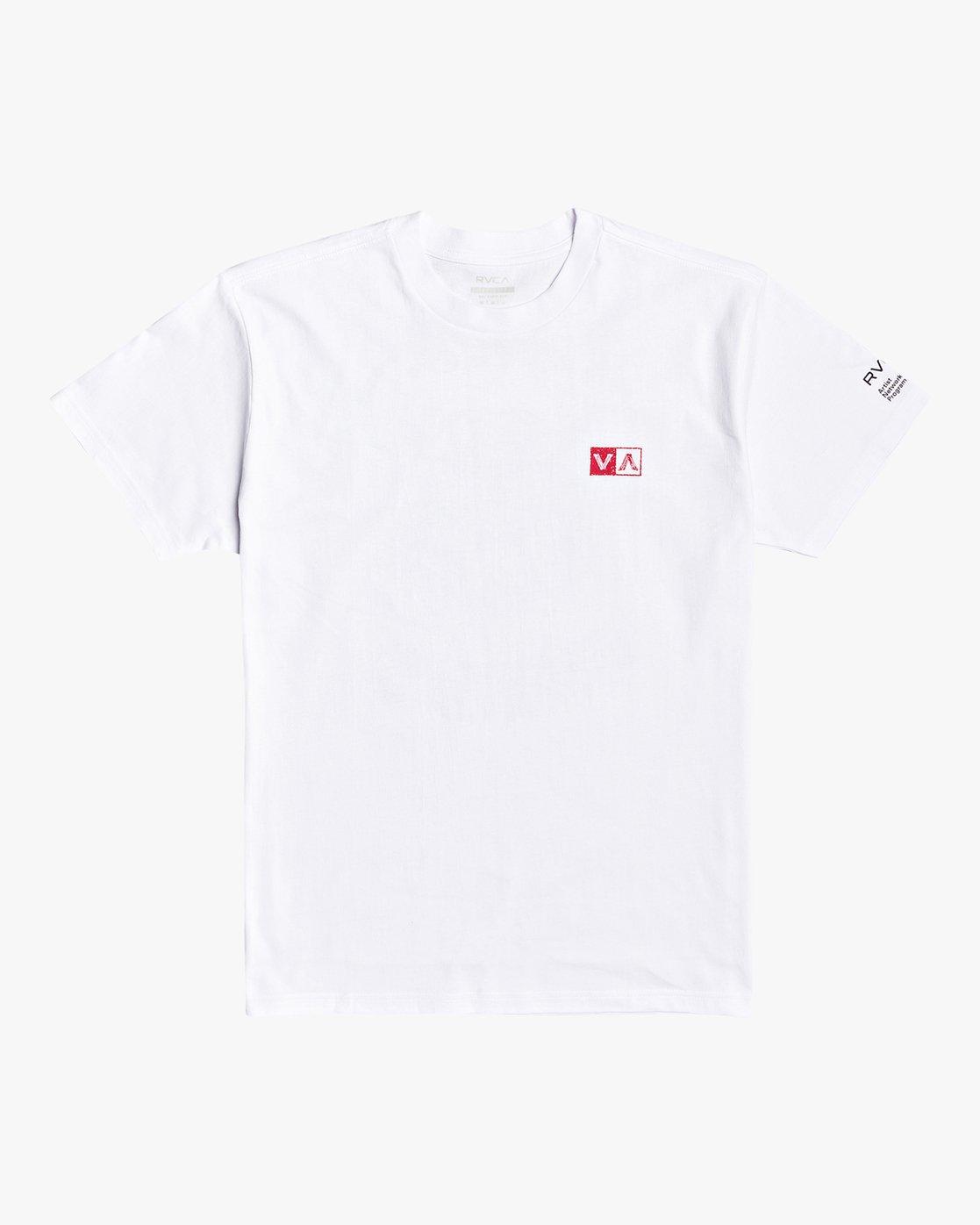 1 Tiger Stare - T-Shirt for Men White U1SSSIRVF0 RVCA
