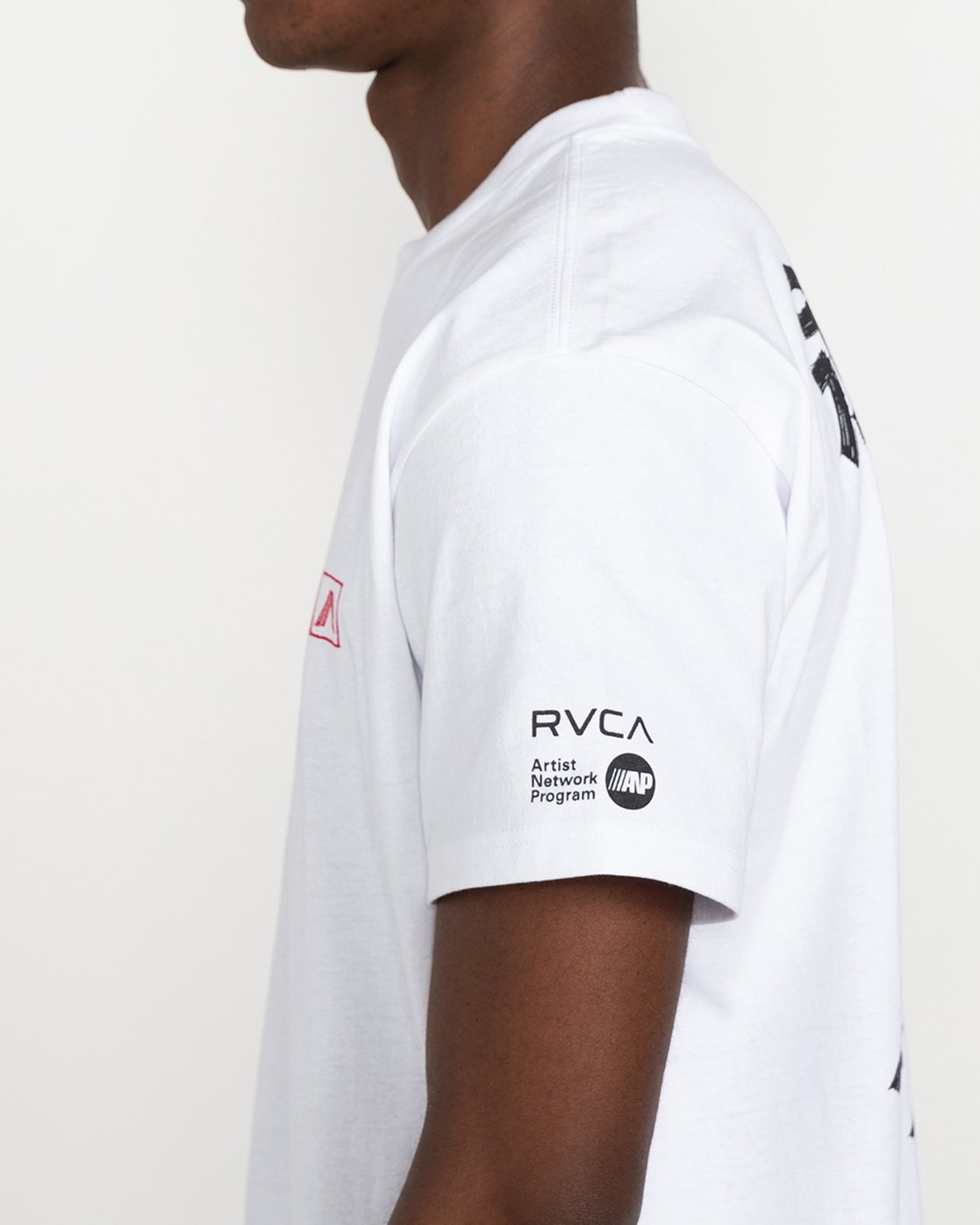 3 Tiger Stare - T-Shirt for Men White U1SSSIRVF0 RVCA
