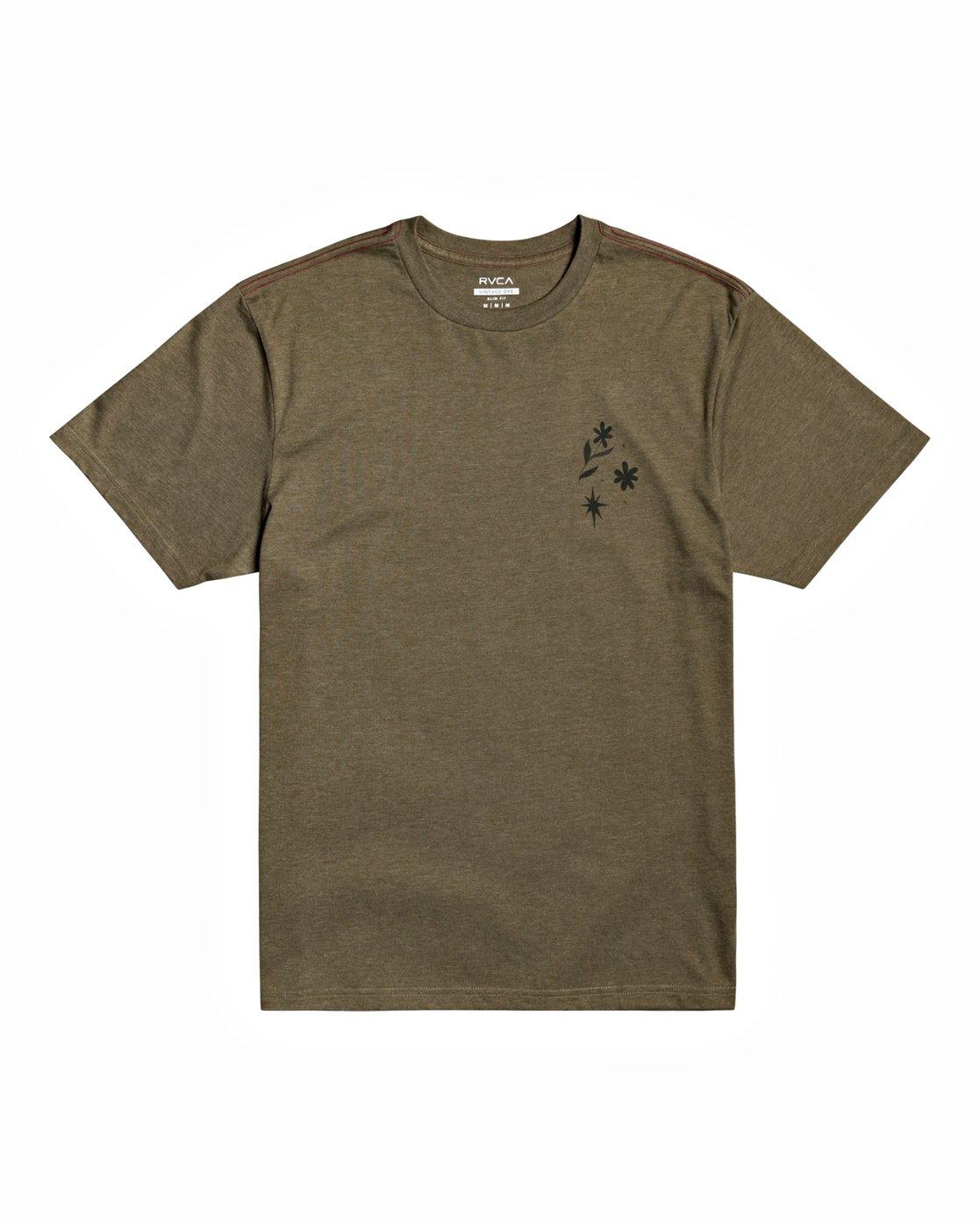 1 Johanna Olk - T-Shirt for Men Green U1SSSMRVF0 RVCA