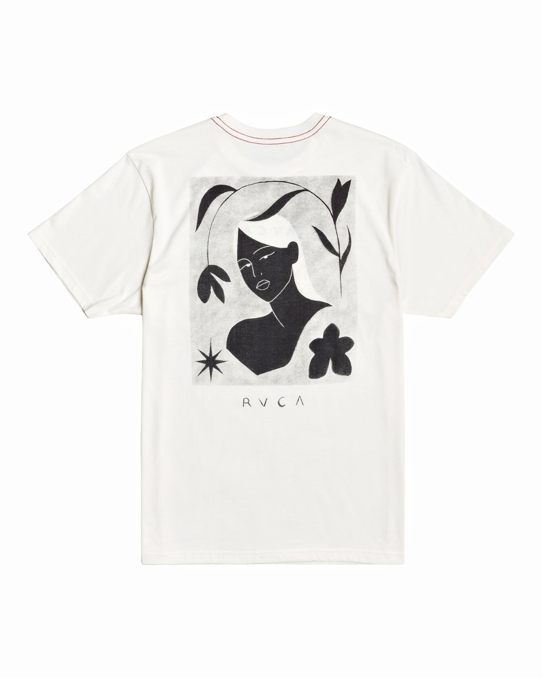 0 Johanna Olk - T-shirt pour Homme Blanc U1SSSMRVF0 RVCA