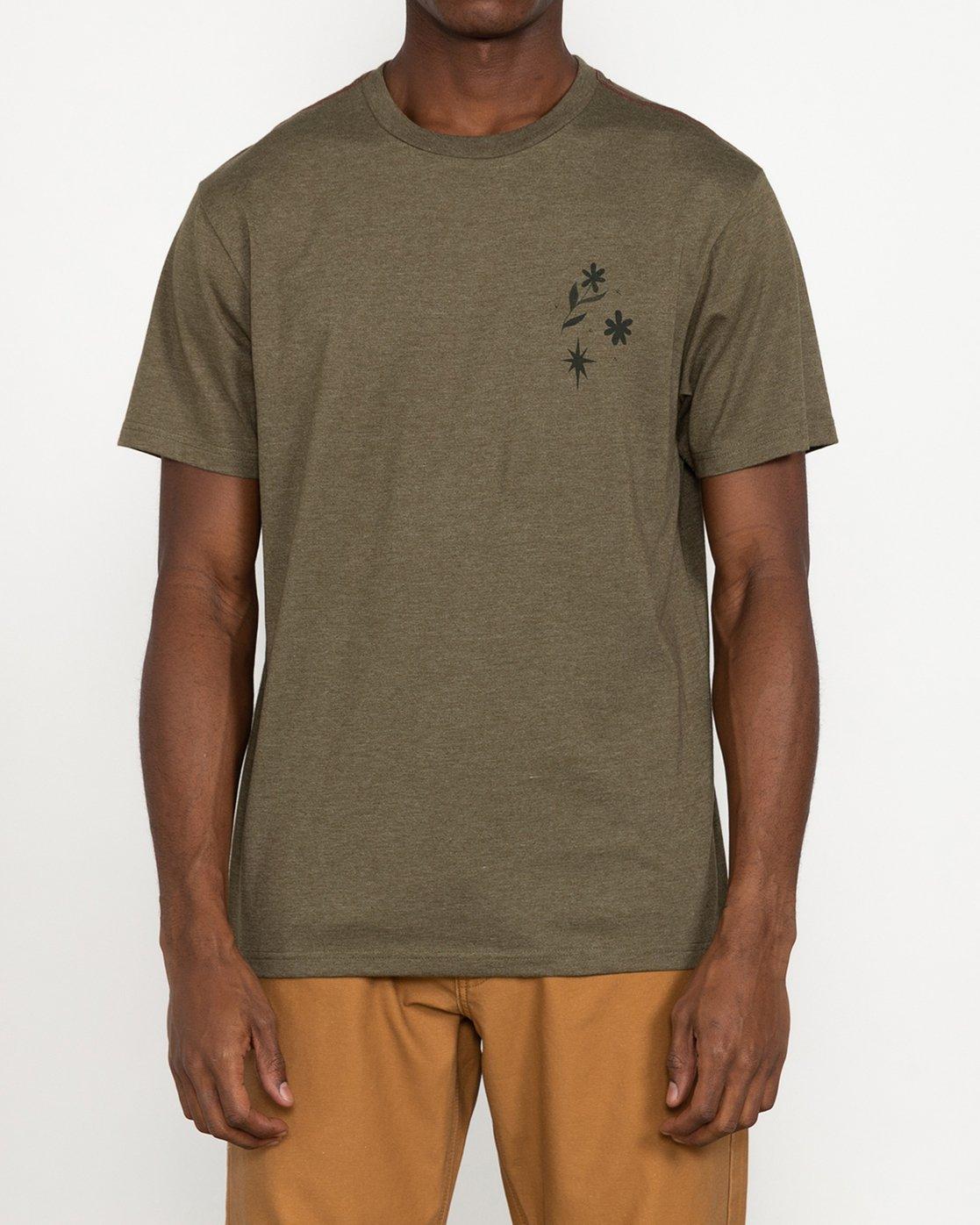 2 Johanna Olk - T-Shirt for Men Green U1SSSMRVF0 RVCA