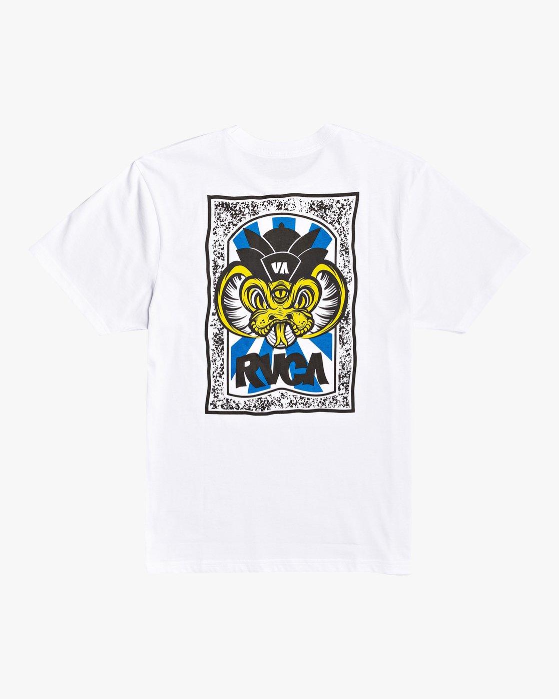 1 Roberto Rodriguez Redondo - T-Shirt for Men White U1SSSPRVF0 RVCA