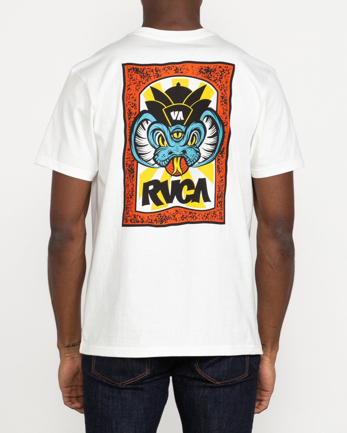 3 Roberto Rodriguez Redondo - T-shirt pour Homme Blanc U1SSSPRVF0 RVCA