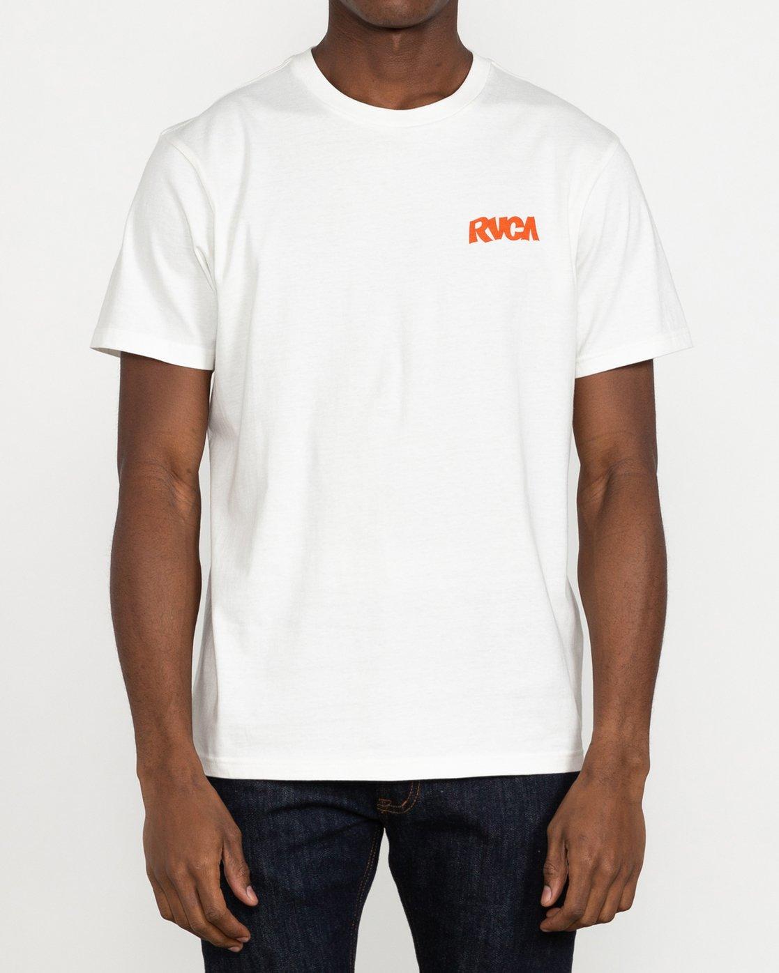2 Roberto Rodriguez Redondo Roberto - T-Shirt for Men White U1SSSPRVF0 RVCA