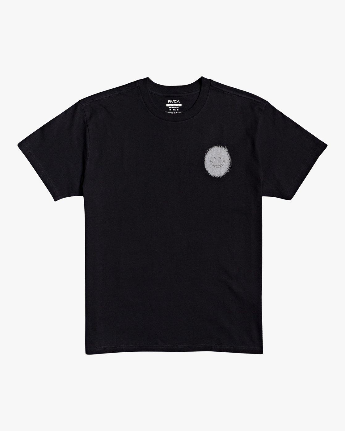 0 Benjamin JeanJean Skulls And Roses - T-Shirt for Men Black U1SSSSRVF0 RVCA