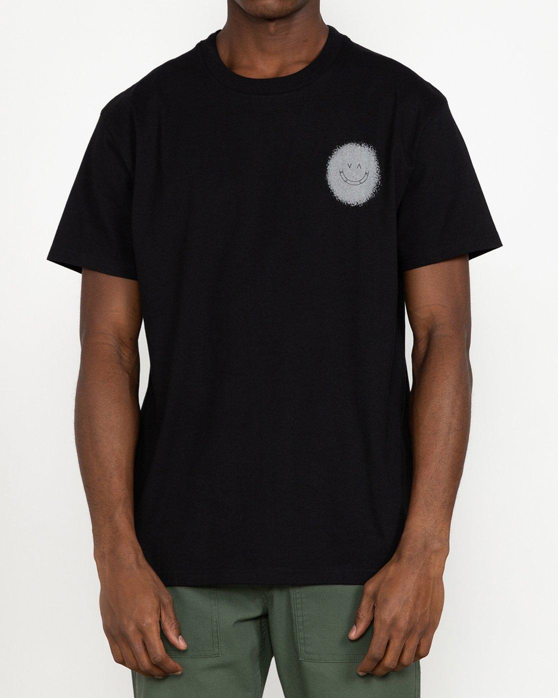 4 Benjamin JeanJean Skulls And Roses - T-Shirt for Men Black U1SSSSRVF0 RVCA
