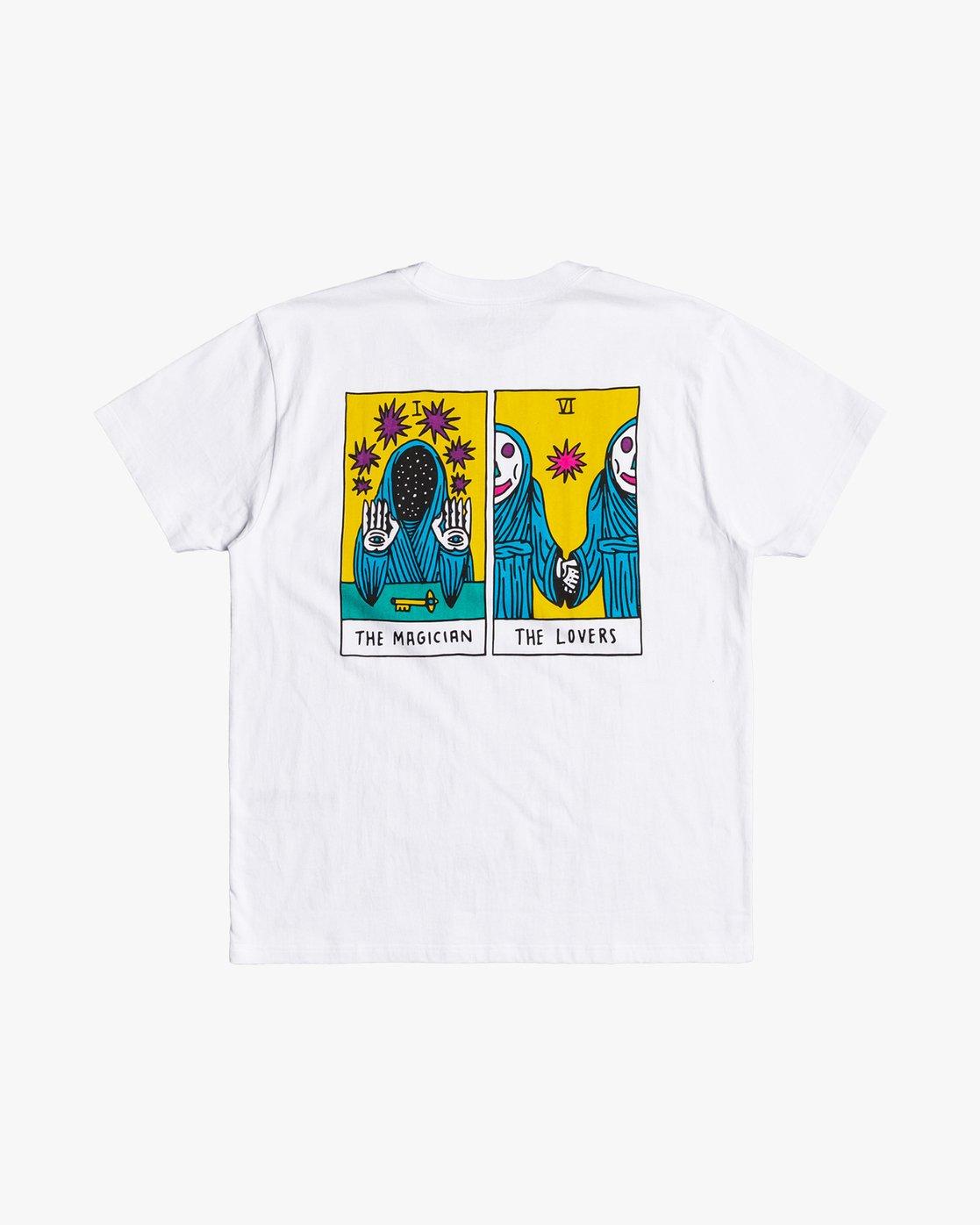 0 Sb Tarot - T-Shirt for Men White U1SSSVRVF0 RVCA