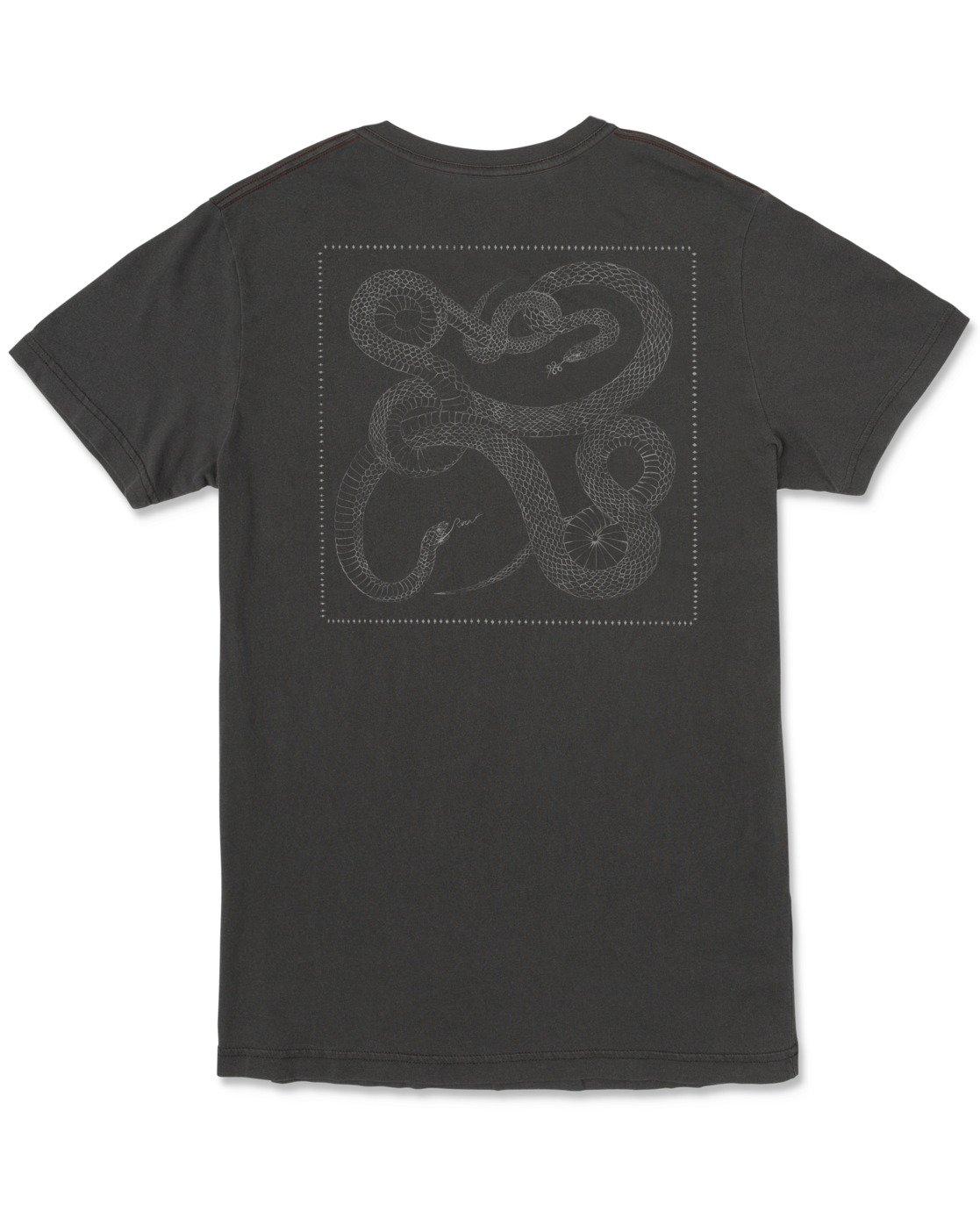 1 Bull Snake - T-shirt pour Homme Noir U1SSVDRVF0 RVCA