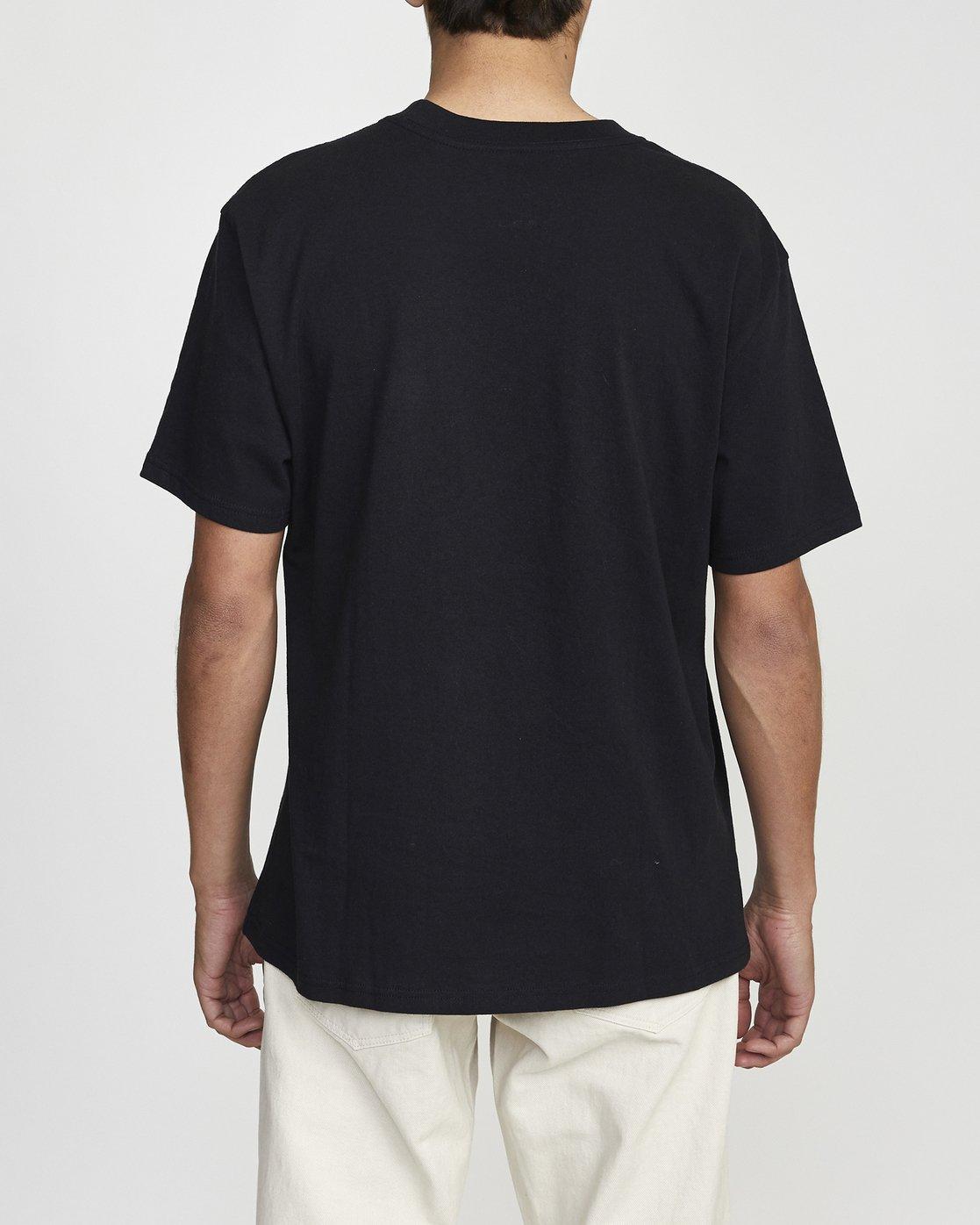 3 Baker Ransom - T-shirt pour Homme Noir U1SSVHRVF0 RVCA