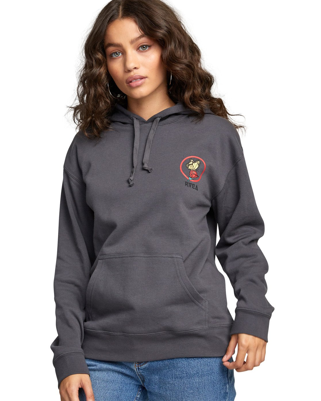 6 Nothing Po - Hoodie for Women  U3HORARVF0 RVCA