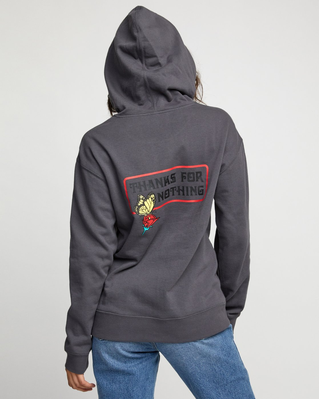 1 Nothing Po - Hoodie for Women  U3HORARVF0 RVCA