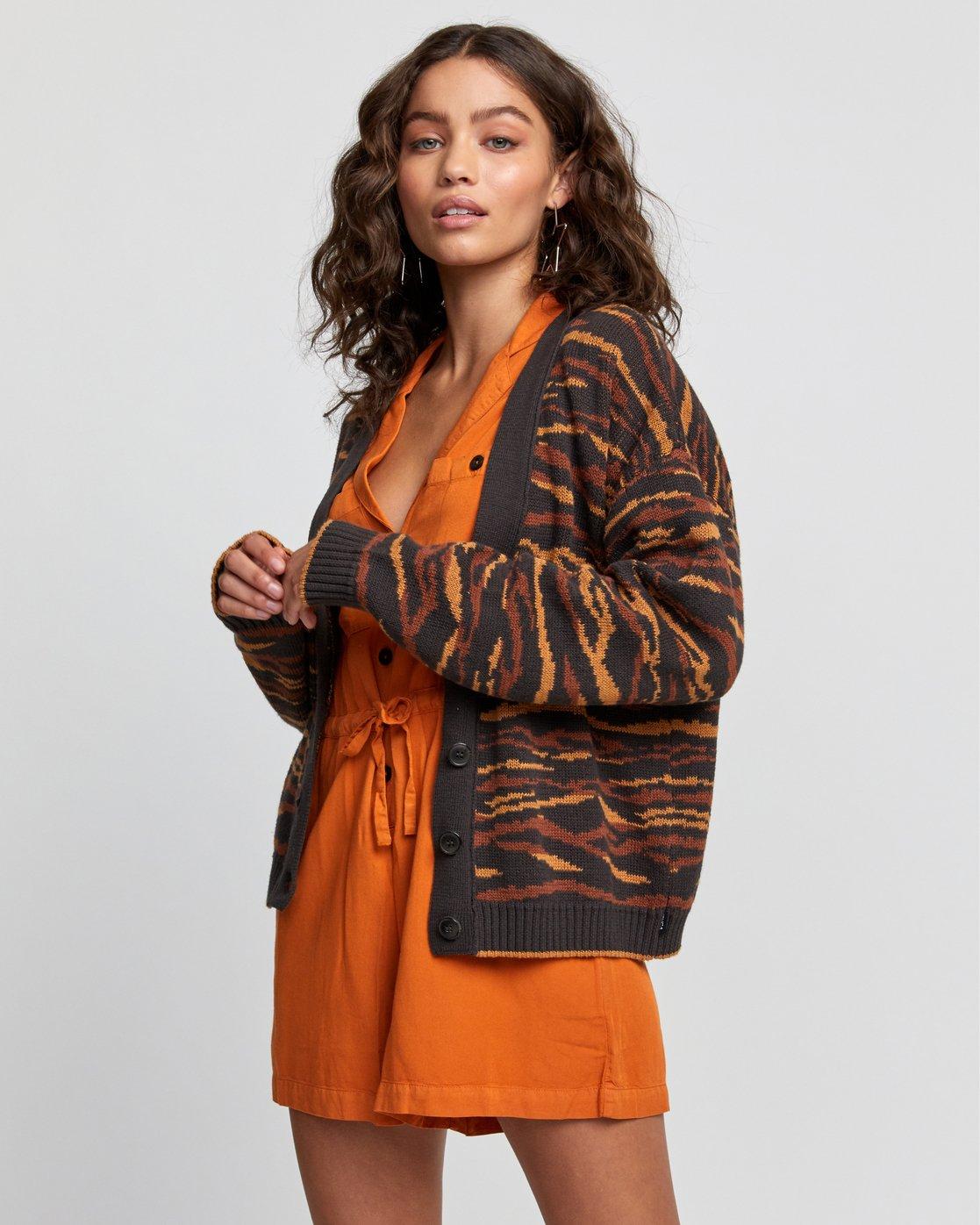 4 Adrienne - Gilet pour Femme Noir U3JPRERVF0 RVCA