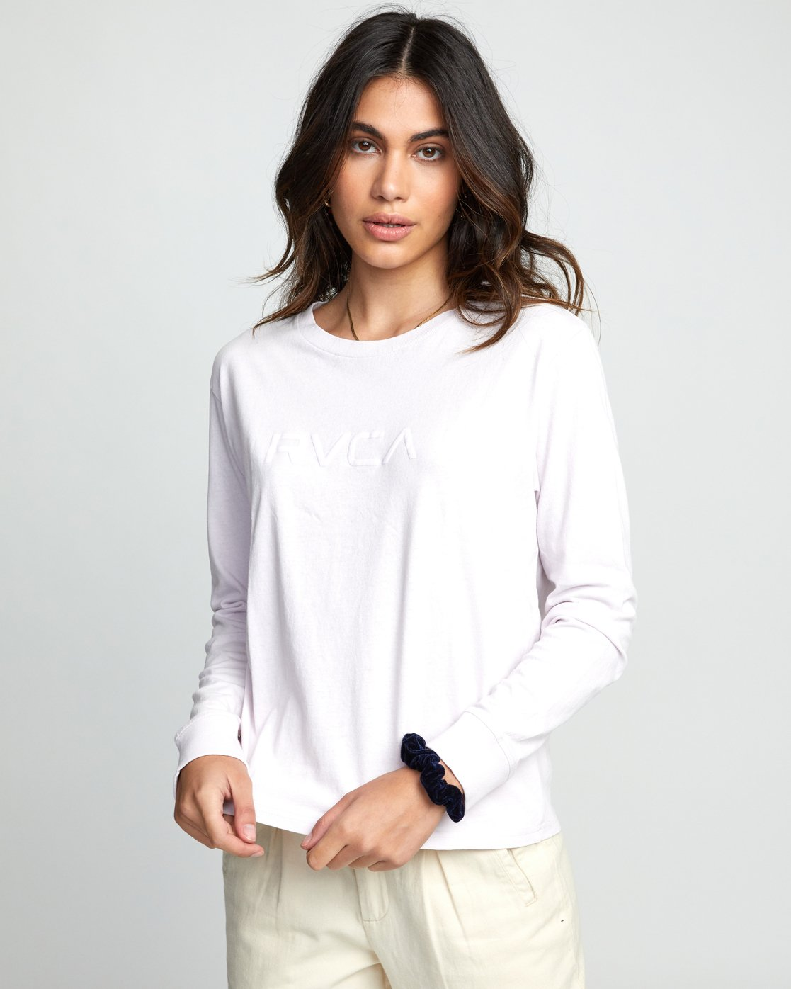 0 Big RVCA - Long Sleeve T-Shirt for Women Purple U3LSRARVF0 RVCA
