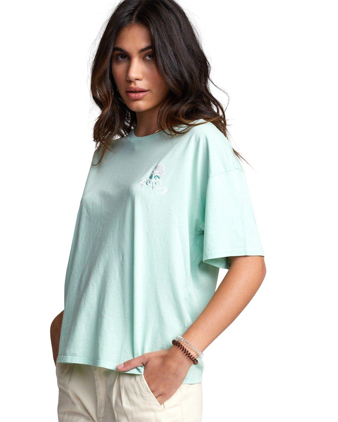 6 Petite Rose - T-Shirt for Women  U3SSRBRVF0 RVCA