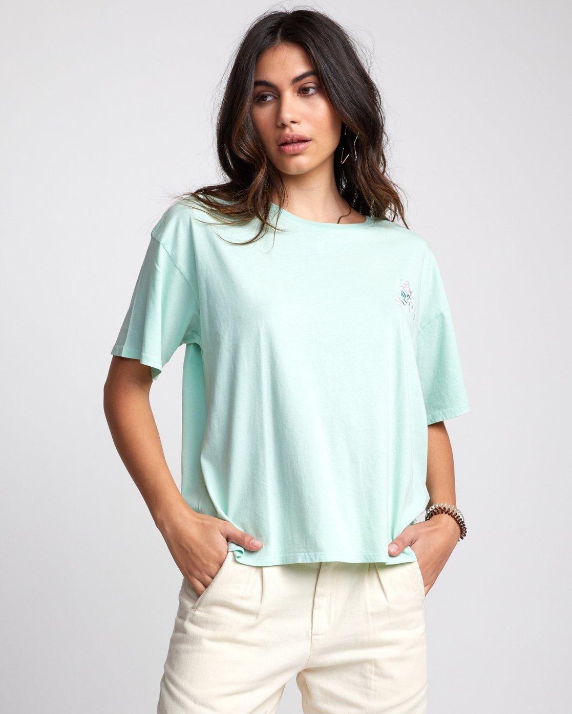 0 Petite Rose - T-Shirt for Women  U3SSRBRVF0 RVCA