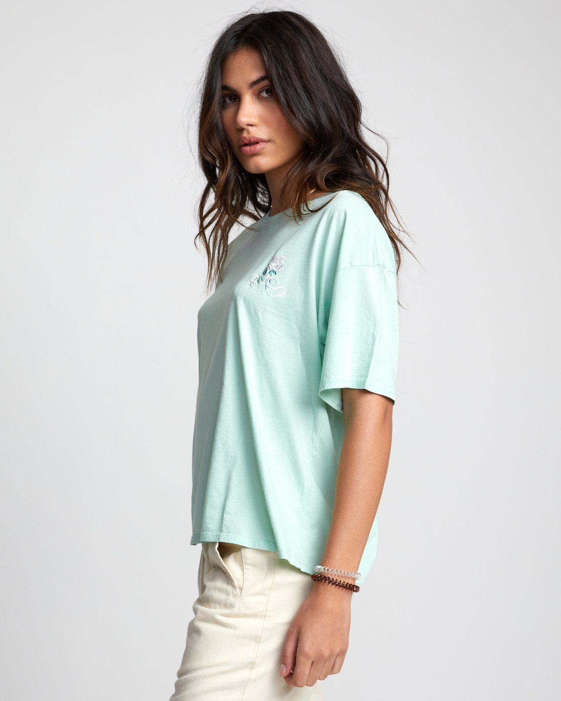 4 Petite Rose - T-Shirt for Women  U3SSRBRVF0 RVCA