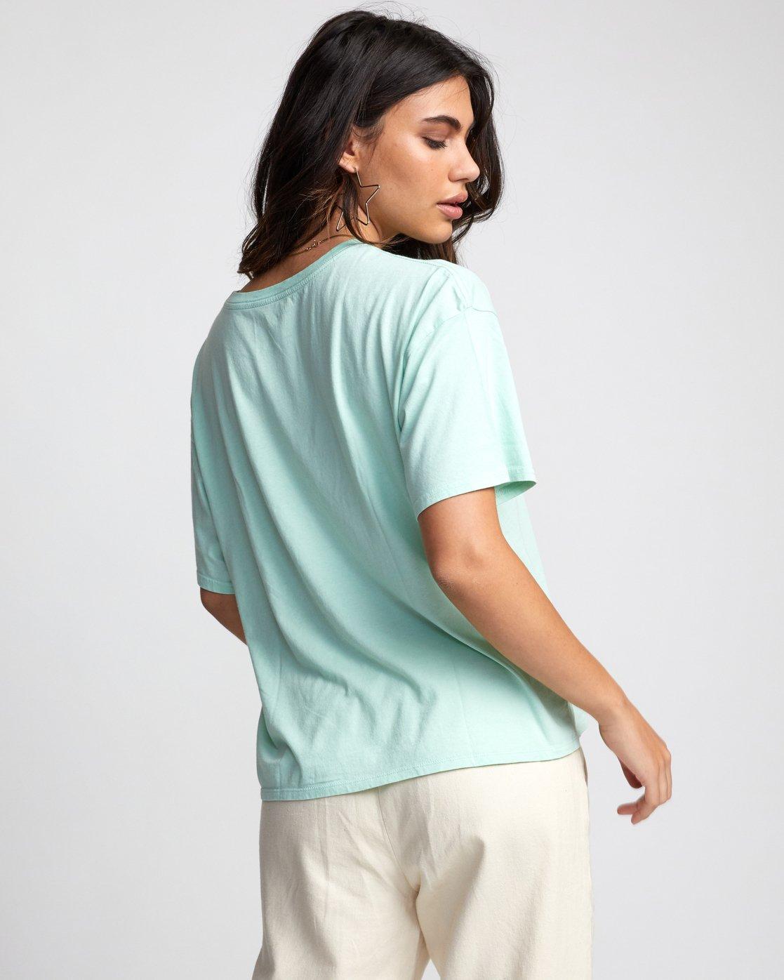 5 Petite Rose - T-Shirt for Women  U3SSRBRVF0 RVCA