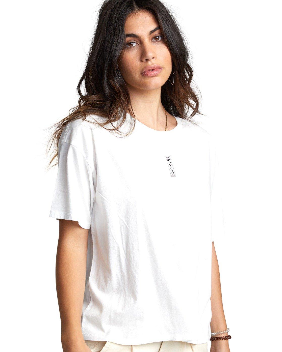 5 Lia Kantrowitz Good Vs. Evil - T-Shirt for Women White U3SSRORVF0 RVCA
