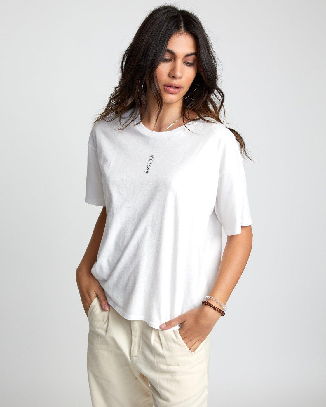 2 Lia Kantrowitz Good Vs. Evil - T-Shirt for Women White U3SSRORVF0 RVCA
