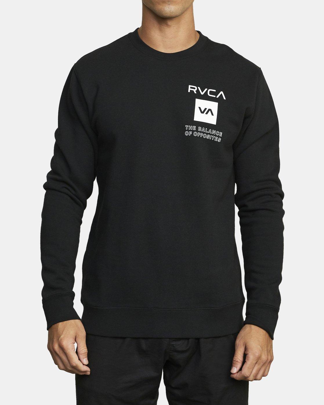 0 VA Sport Graphic - Sweat pour Homme Noir U4CRMARVF0 RVCA