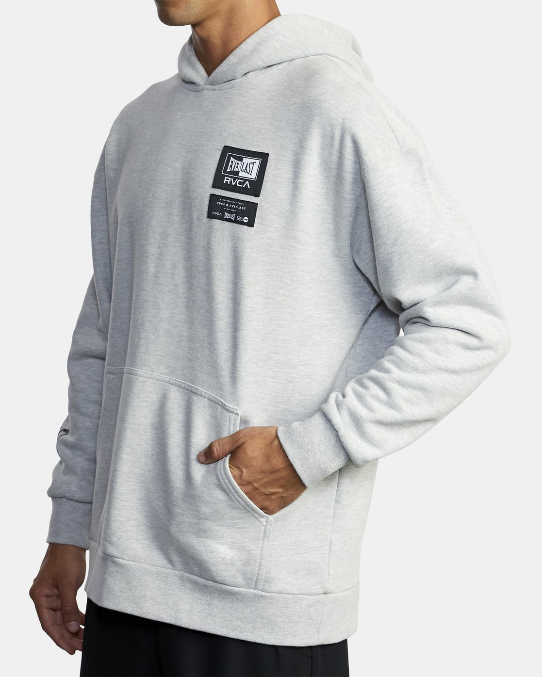 6 Everlast Sport - Hoodie for Men Grey U4HOEARVF0 RVCA