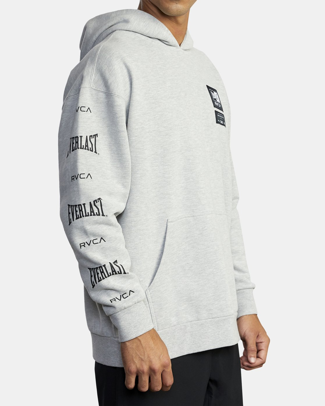 7 Everlast Sport - Hoodie for Men Grey U4HOEARVF0 RVCA
