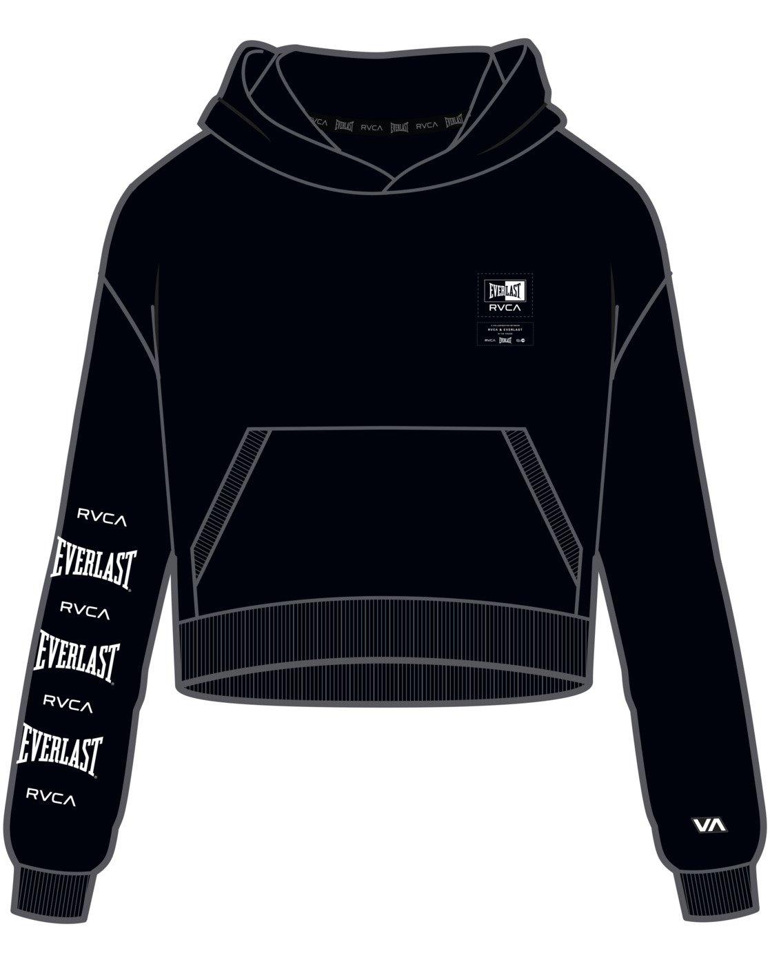 9 Everlast Sport - Hoodie for Women Black U4HOEBRVF0 RVCA