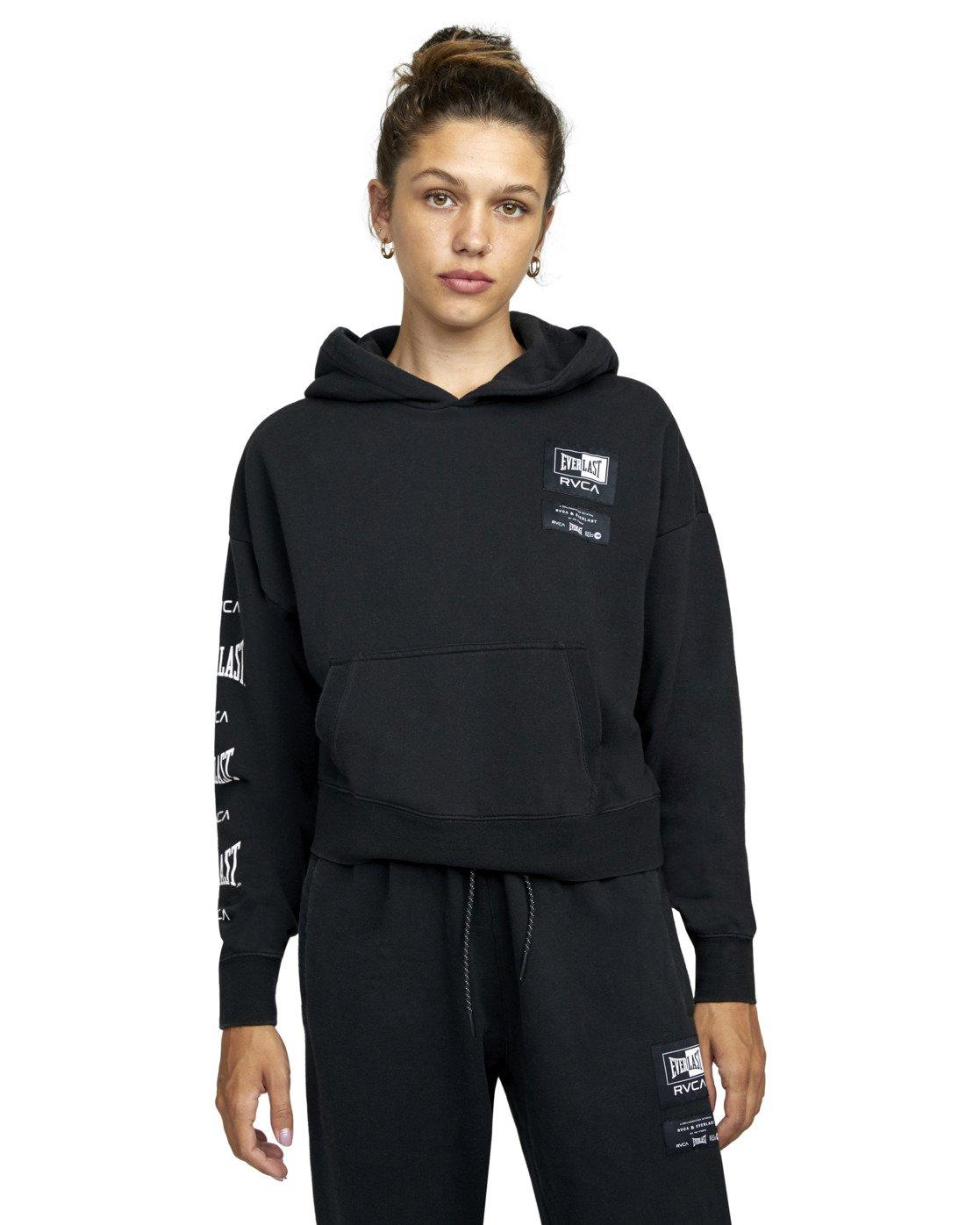 6 Everlast Sport - Hoodie for Women Black U4HOEBRVF0 RVCA