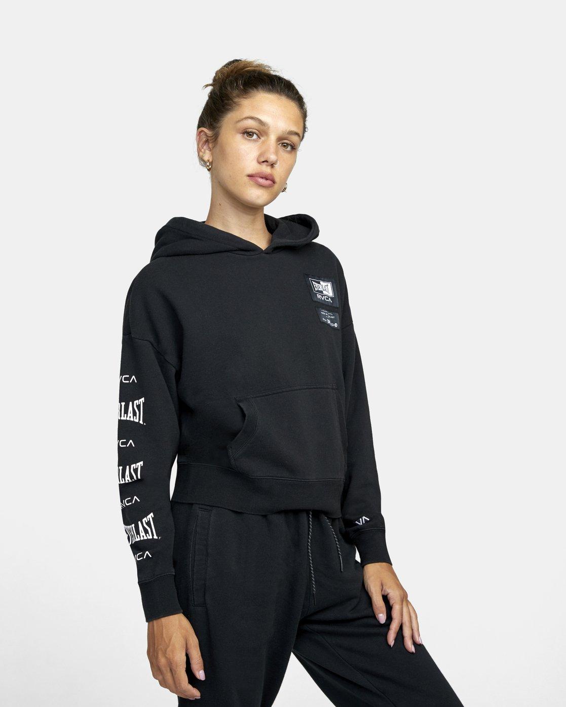 4 Everlast Sport - Hoodie for Women Black U4HOEBRVF0 RVCA