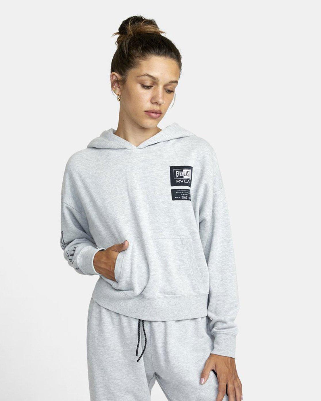 0 Everlast Sport - Hoodie for Women Grey U4HOEBRVF0 RVCA