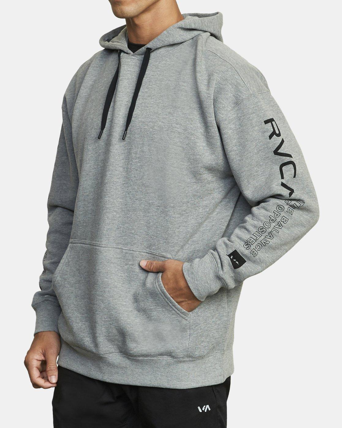 2 VA Sport - Hoodie for Men Grey U4HOMARVF0 RVCA