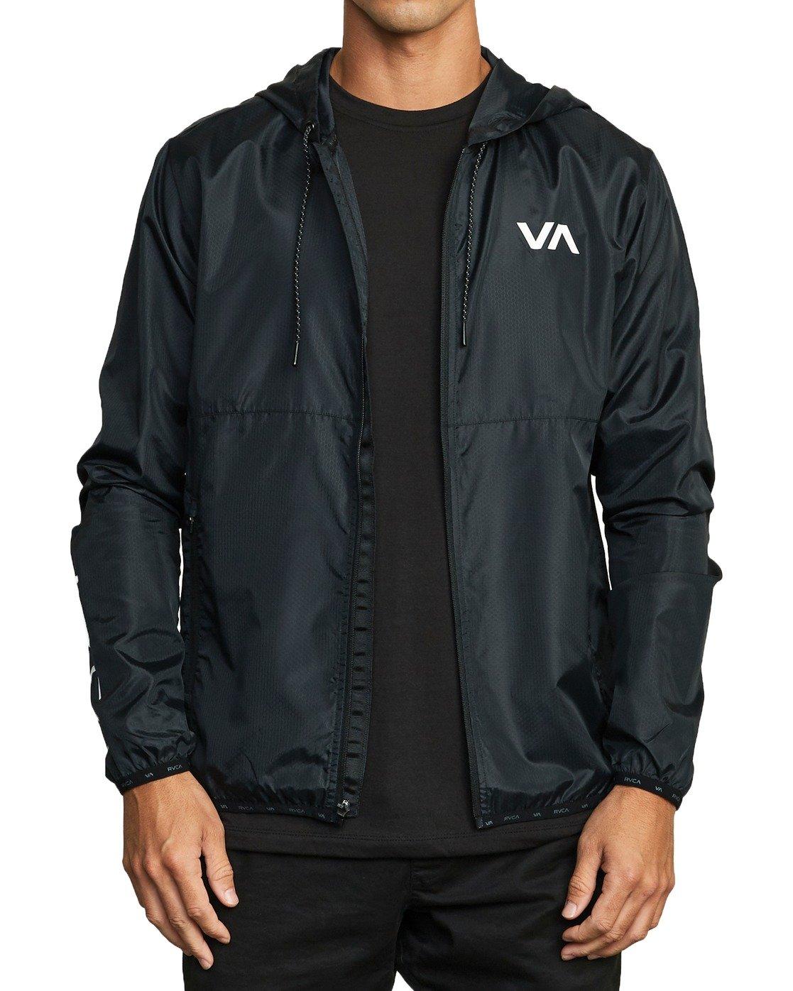 6 VA Sport Hexstop - Veste pour Homme Noir U4JKMCRVF0 RVCA