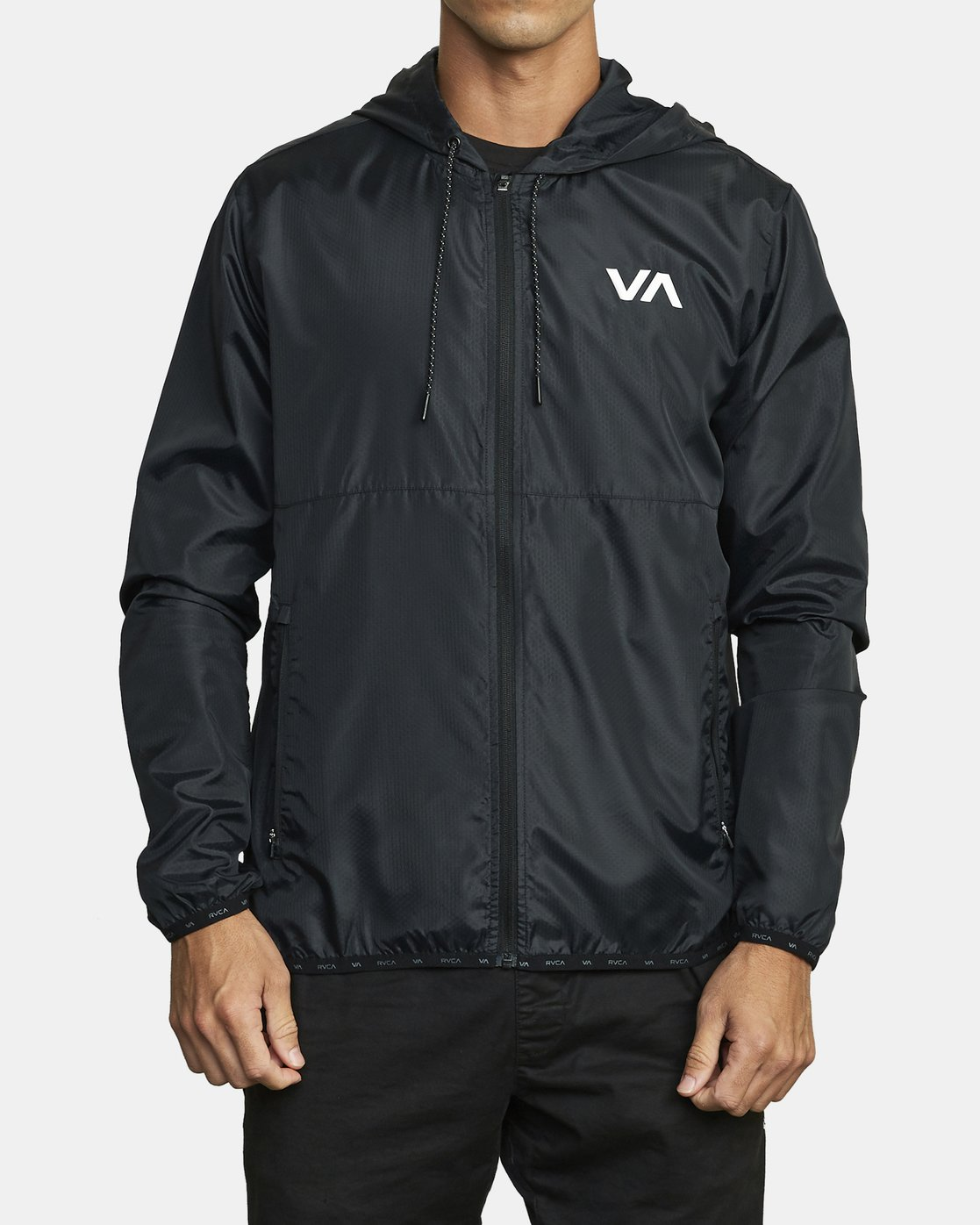 0 VA Sport Hexstop - Veste pour Homme Noir U4JKMCRVF0 RVCA