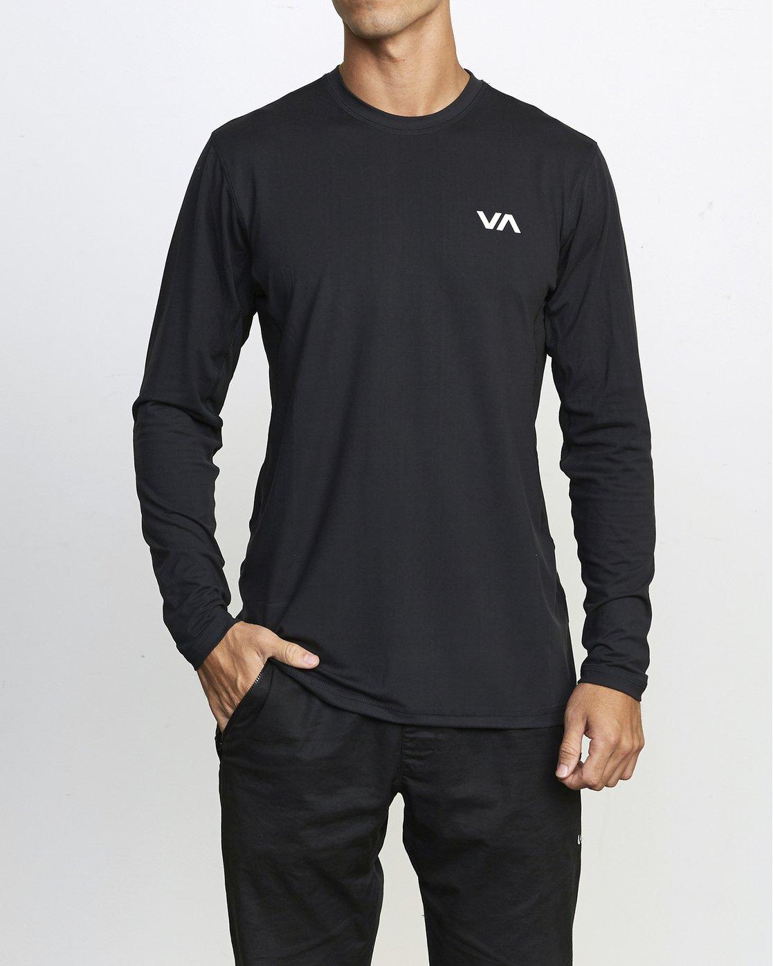 0 VA Sport Vent - Haut manches longues pour Homme Noir U4KTMCRVF0 RVCA