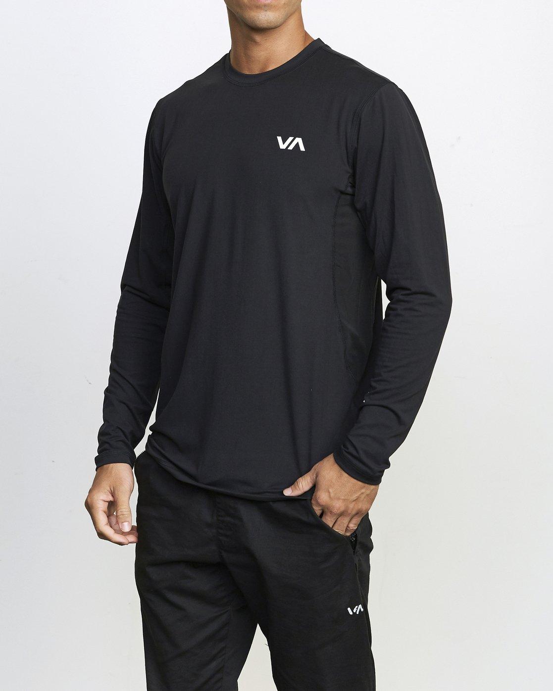 1 VA Sport Vent - Haut manches longues pour Homme Noir U4KTMCRVF0 RVCA