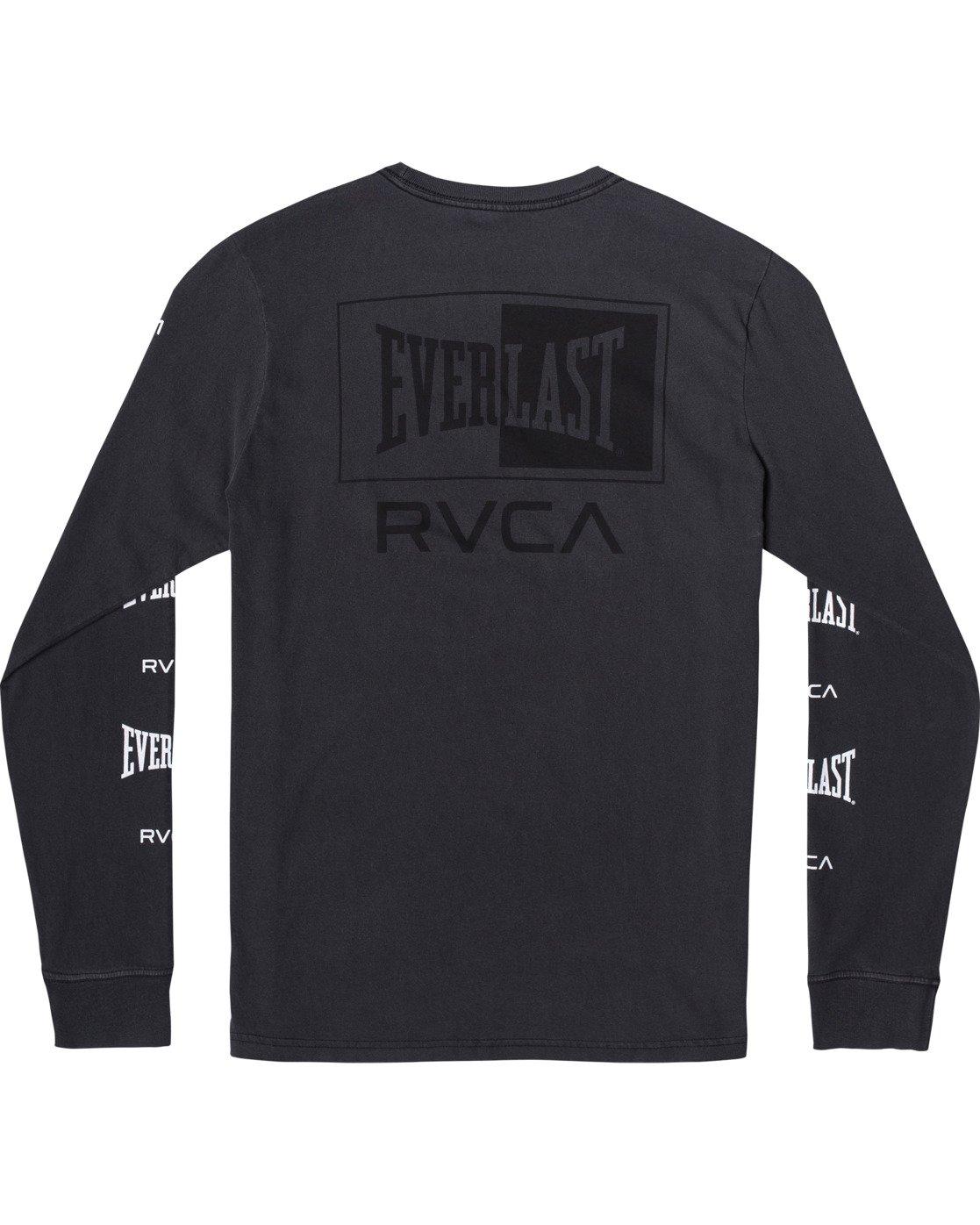 1 Everlast Box - Long Sleeve T-Shirt for Men Black U4LSEARVF0 RVCA