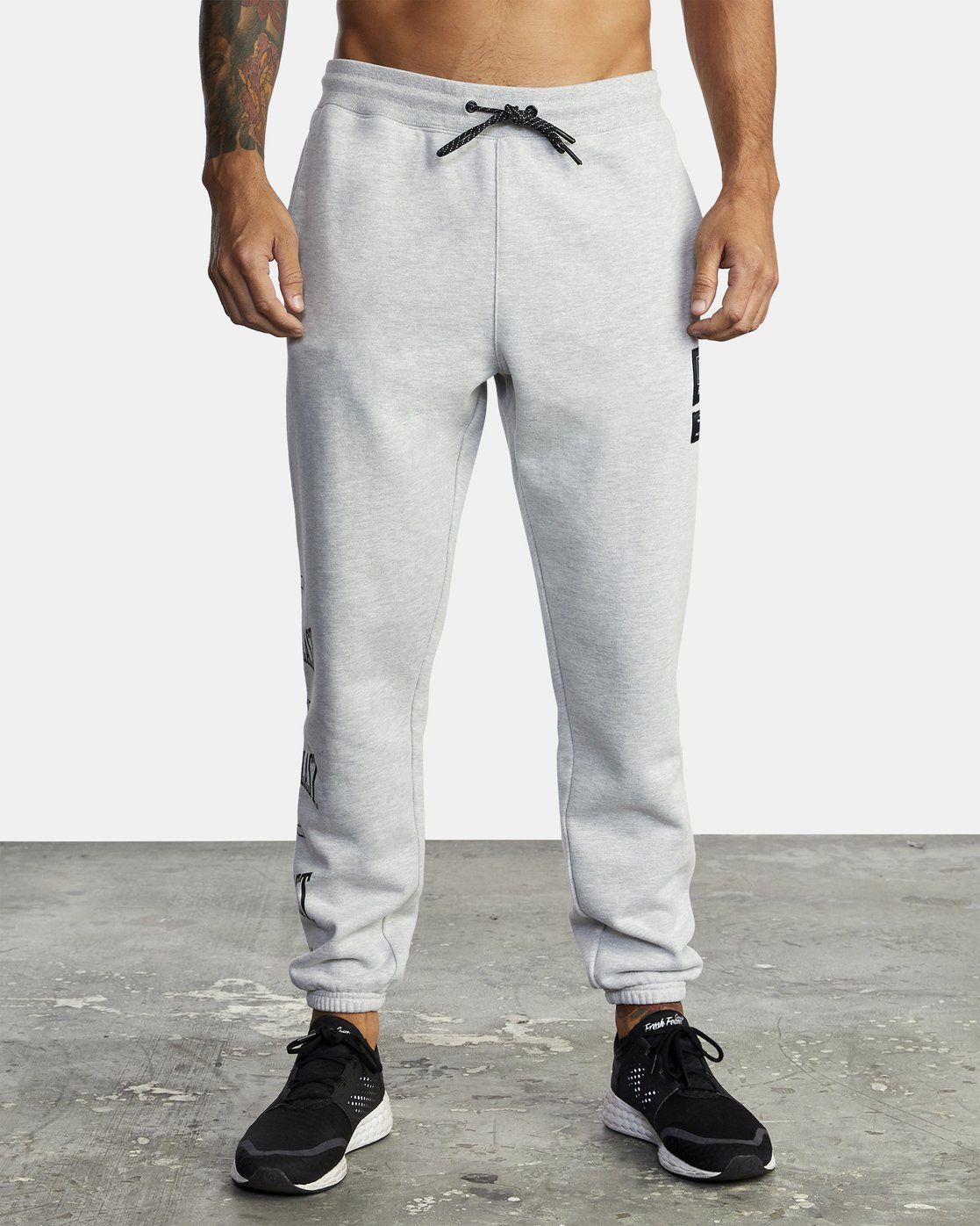 8 Everlast Sport - Joggers for Men Grey U4PTEARVF0 RVCA
