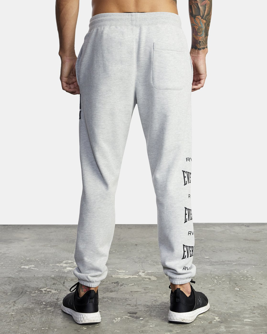 3 Everlast Sport - Joggers for Men Grey U4PTEARVF0 RVCA