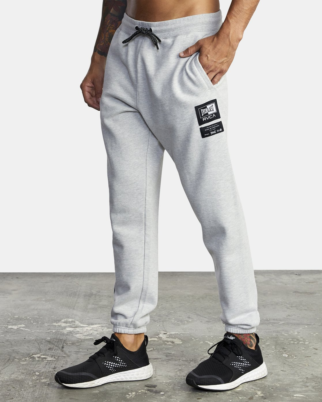 4 Everlast Sport - Joggers for Men Grey U4PTEARVF0 RVCA