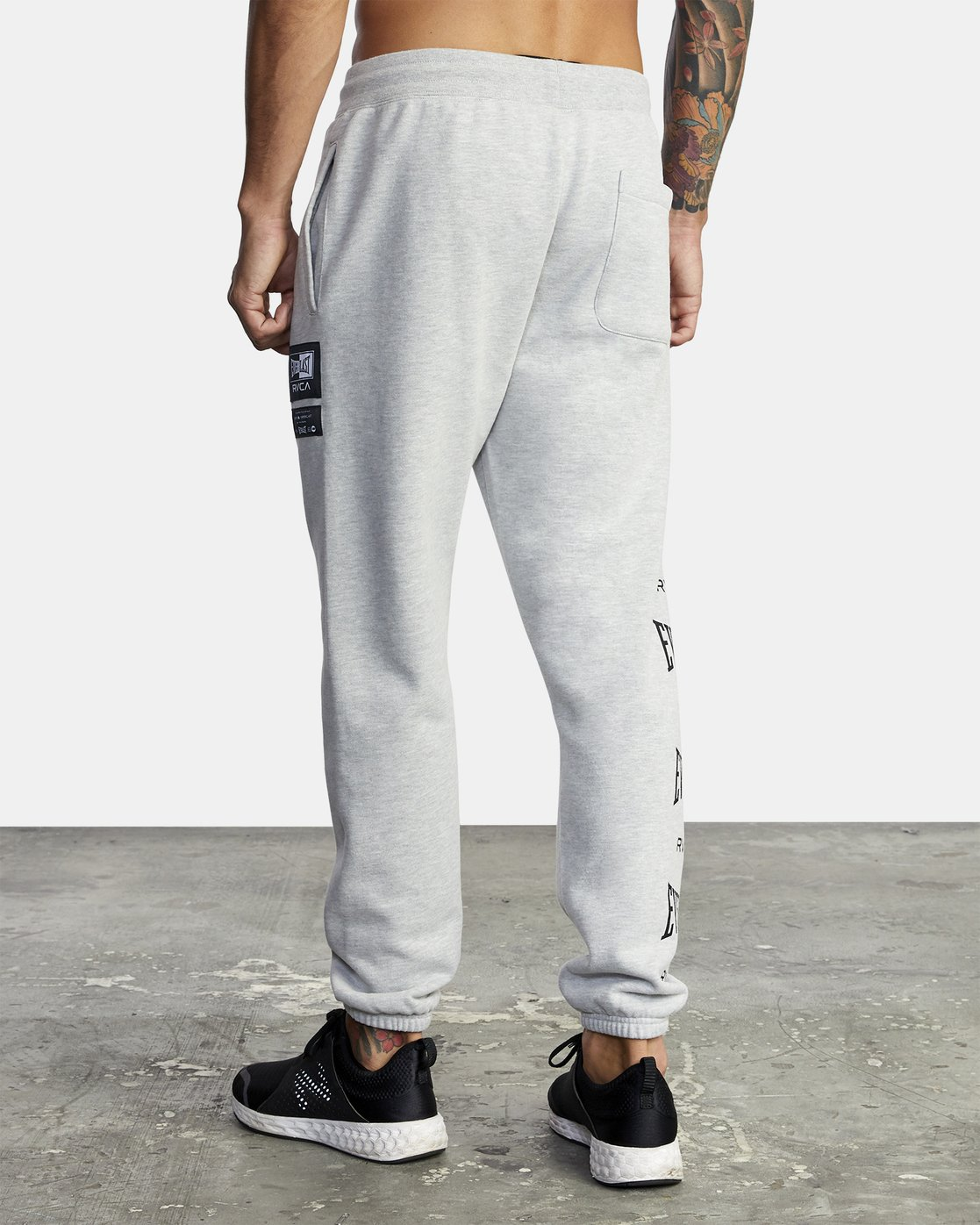 5 Everlast Sport - Joggers for Men Grey U4PTEARVF0 RVCA