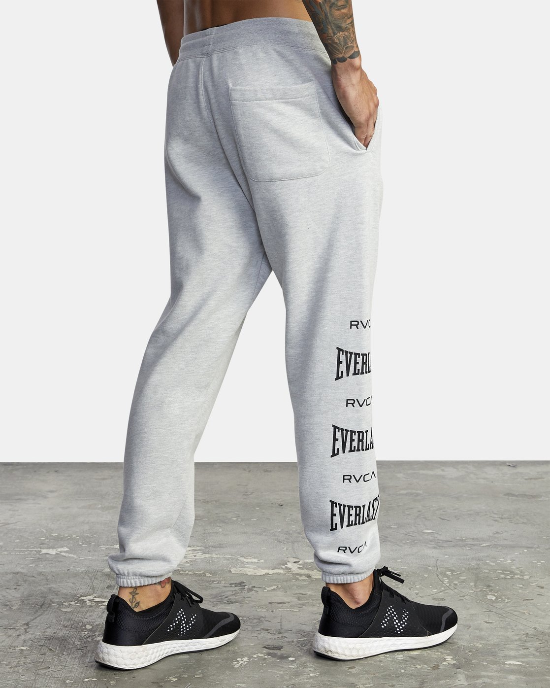 6 Everlast Sport - Joggers for Men Grey U4PTEARVF0 RVCA