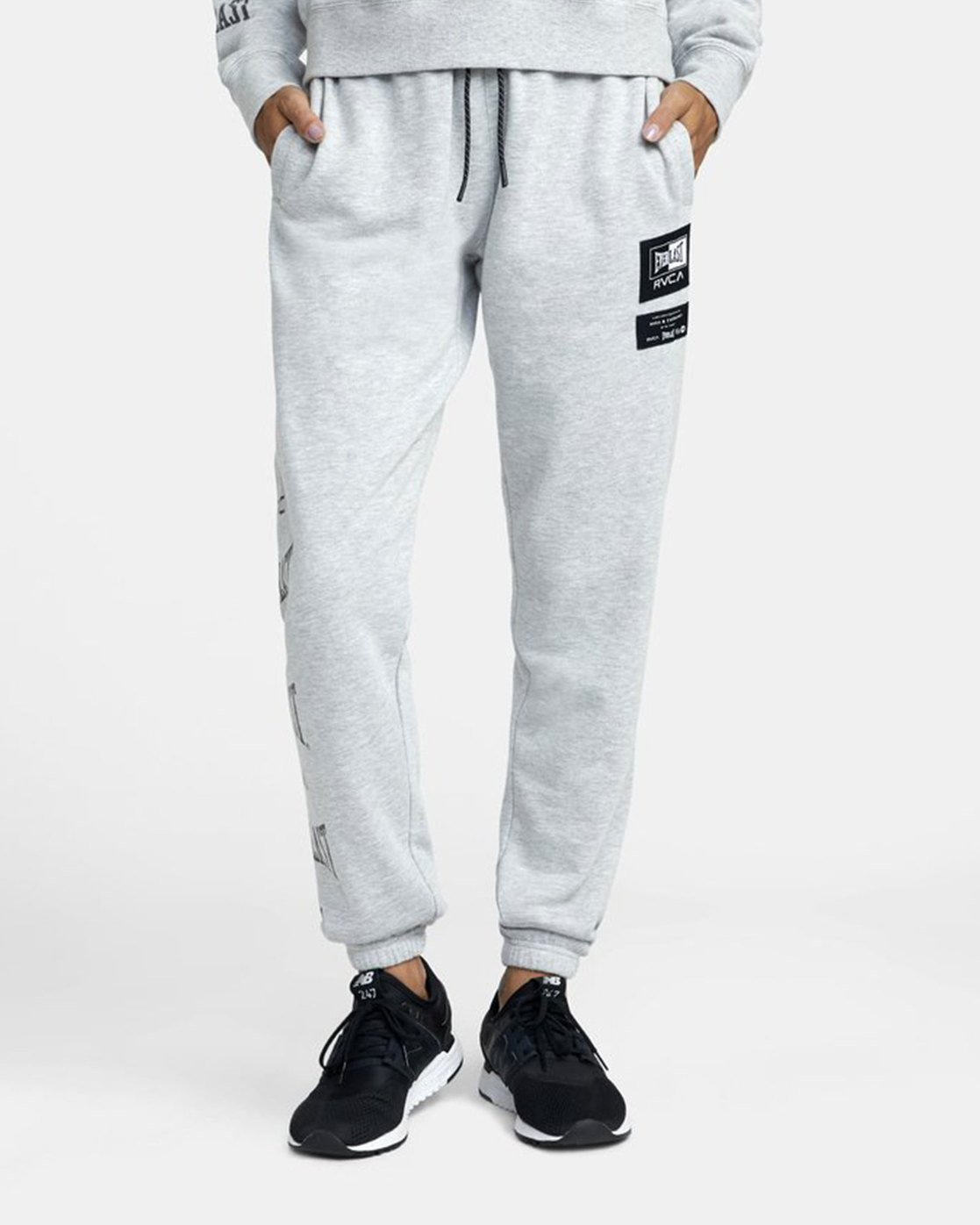 6 Everlast Sport - Joggers for Women Grey U4PTEBRVF0 RVCA