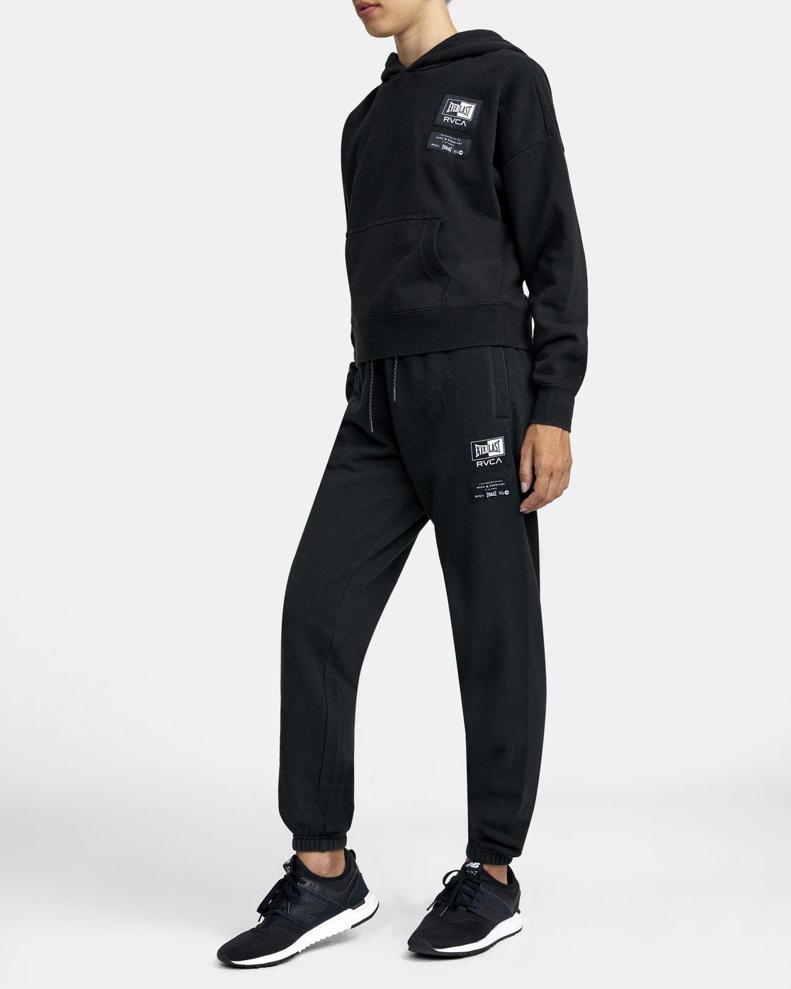 1 Everlast Sport - Pantalon de jogging pour Femme Noir U4PTEBRVF0 RVCA