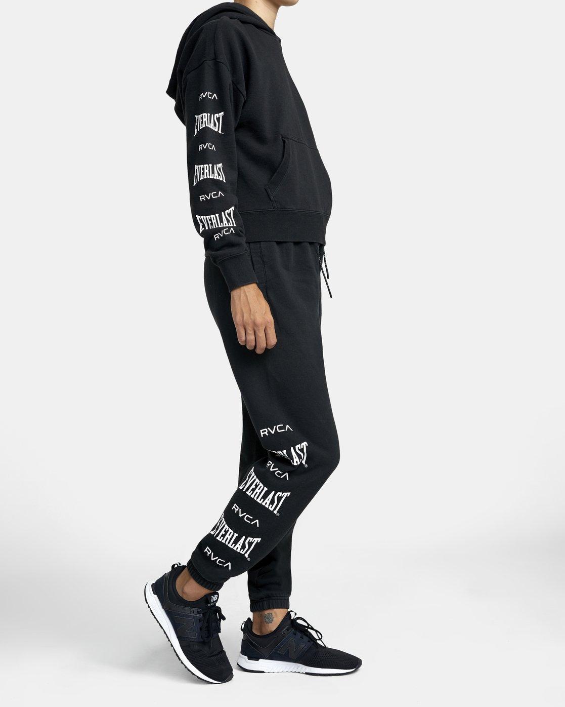 4 Everlast Sport - Pantalon de jogging pour Femme Noir U4PTEBRVF0 RVCA