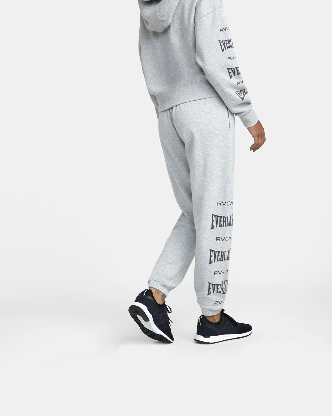 4 Everlast Sport - Joggers for Women Grey U4PTEBRVF0 RVCA