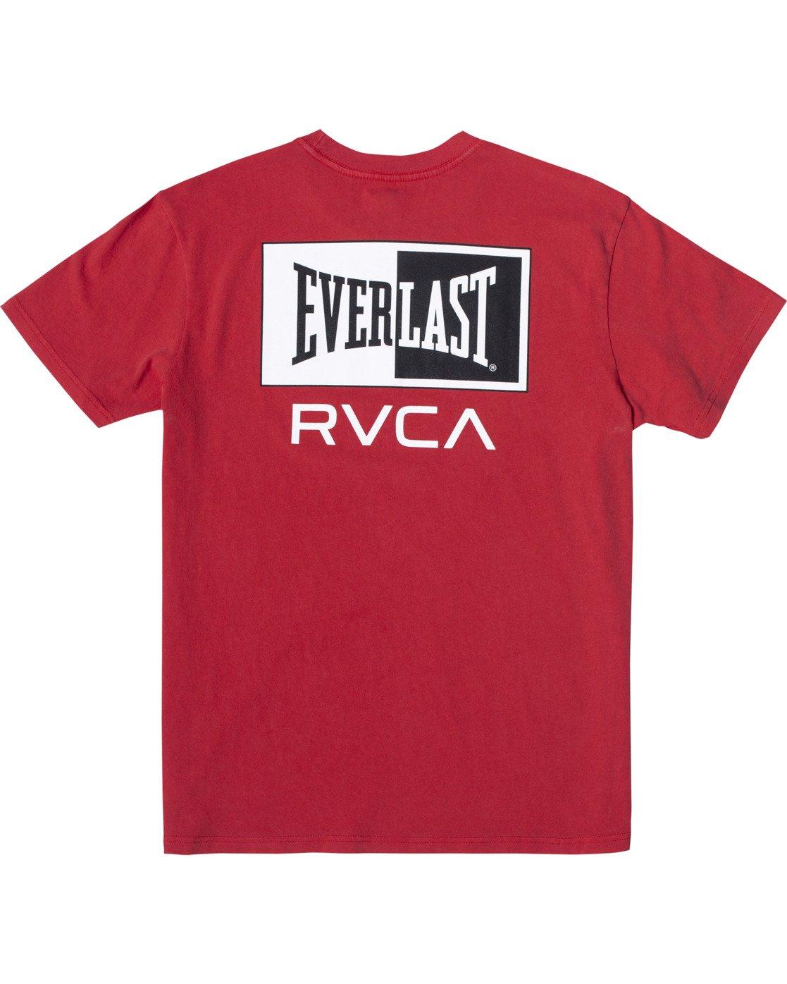 1 Everlast Stack - T-Shirt for Men Red U4SSEARVF0 RVCA