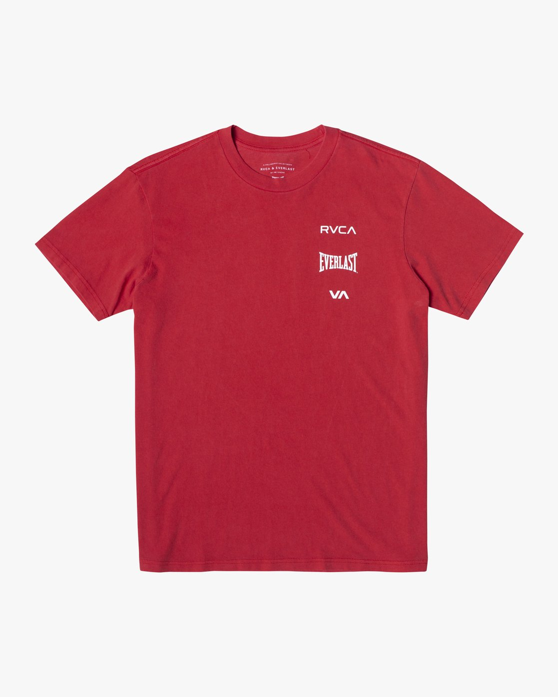 2 Everlast Stack - T-Shirt for Men Red U4SSEARVF0 RVCA